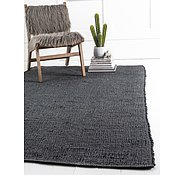 Link to Unique Loom 6' x 9' Metallic Jute Rug