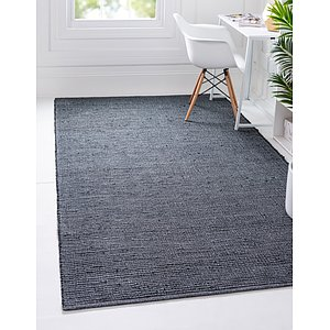 Unique Loom 5' x 8' Metallic Jute Rug