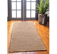 Link to 2' 6 x 6' Metallic Jute Runner Rug