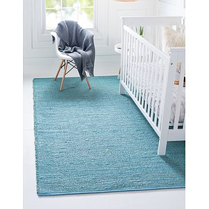 Unique Loom 9' x 12' Metallic Jute Rug