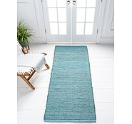 Link to Unique Loom 2' 6 x 6' Metallic Jute Runner Rug