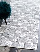 2' 6 x 6' Chindi Cotton Runner Rug thumbnail image 3
