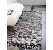 Link to 75cm x 183cm Chindi Jute Runner Rug