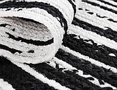 100cm x 100cm Braided Chindi Round Rug thumbnail