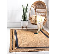 Link to Unique Loom 4' x 6' Braided Jute Rug