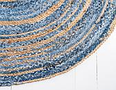 5' x 8' Braided Chindi Oval Rug thumbnail image 14