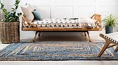 2' x 3' Braided Chindi Rug thumbnail image 3