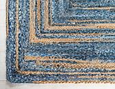 2' x 3' Braided Chindi Rug thumbnail image 8