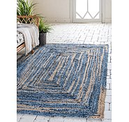 Link to Unique Loom 4' x 6' Braided Chindi Rug