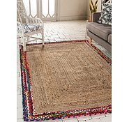 Link to 122cm x 183cm Braided Jute Rug