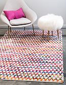 9' x 12' Braided Chindi Rug thumbnail