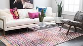 9' x 12' Braided Chindi Rug thumbnail image 2