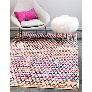Unique Loom 8' x 10' Braided Chindi Rug