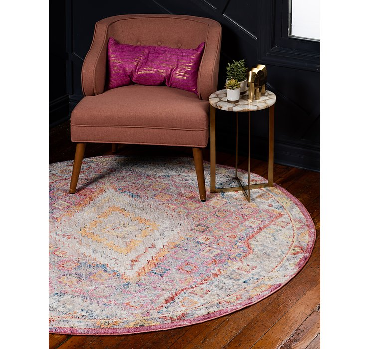 6' x 6' Williamsburg Round Rug