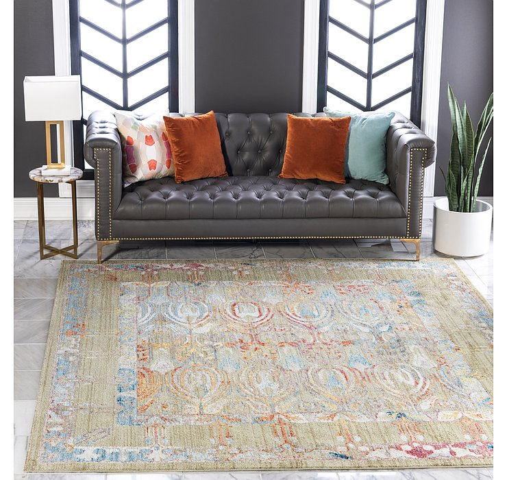 8' x 8' Brooklyn Square Rug