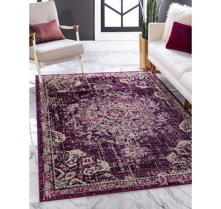 Purple Madeline Rug