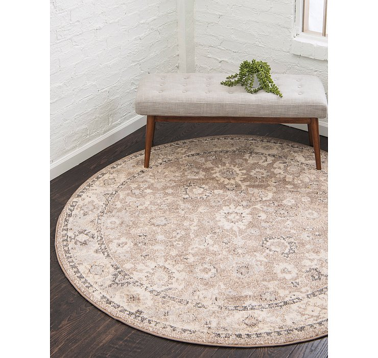 183cm x 183cm Carrington Round Rug