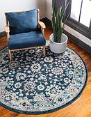 6' x 6' Carrington Round Rug thumbnail image 1