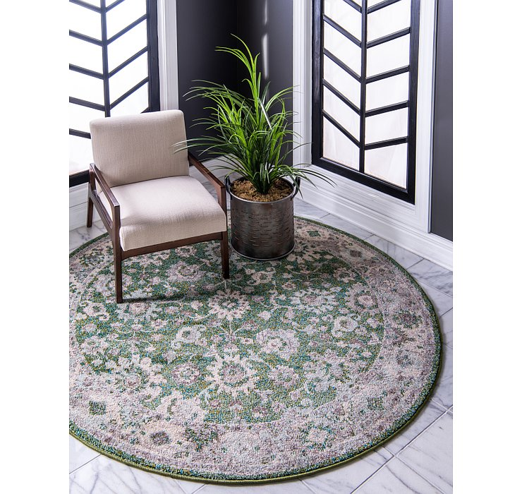 6' x 6' Carrington Round Rug