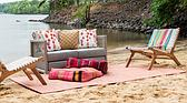 6' 3 x 9' Outdoor Patio Rug thumbnail
