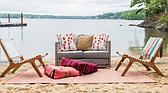 8' 4 x 11' 4 Outdoor Patio Rug thumbnail