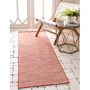 Unique Loom 2' x 6' Outdoor Patio Runner Rug