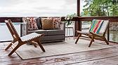 127cm x 183cm Outdoor Patio Rug thumbnail image 2