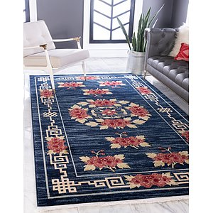 Unique Loom 9' x 12' Gansu Rug