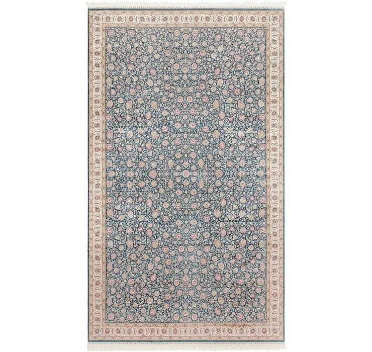 9' 10 x 16' 5 Qom Bamboo Silk Rug
