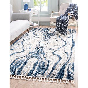 Unique Loom 5' x 8' Hygge Shag Rug