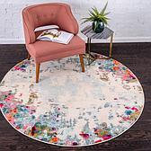 245cm x 245cm Spectrum Round Rug thumbnail image 1