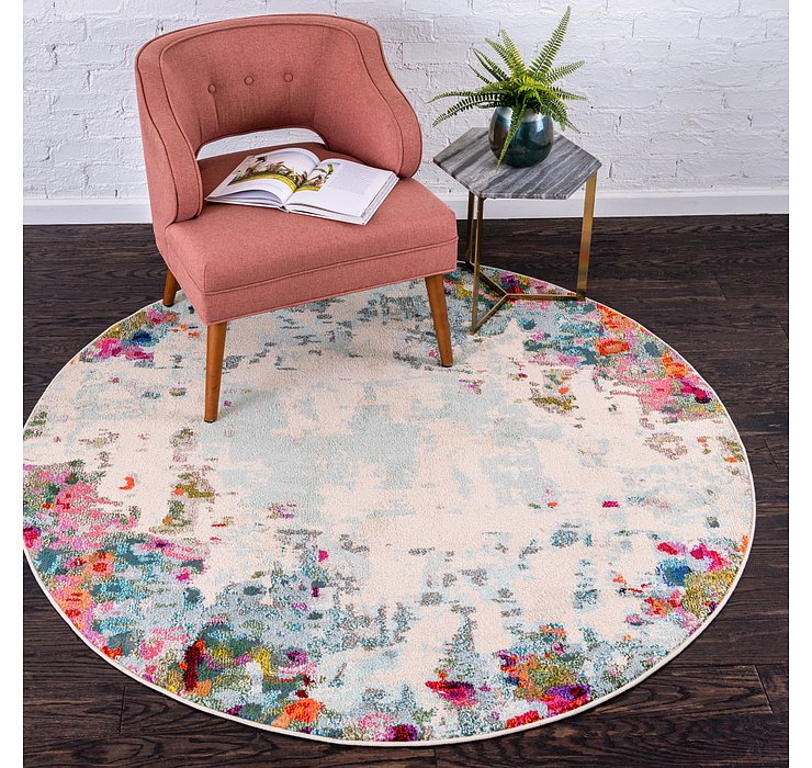 Multi Theia Round Rug
