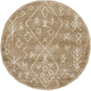 Link to 152cm x 152cm Marrakesh Shag Round Rug item page