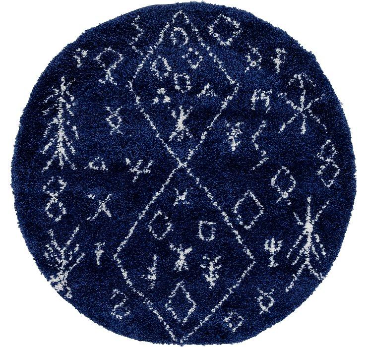 5' x 5' Marrakesh Shag Round Rug