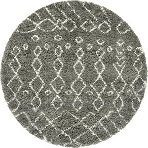 Link to 5' x 5' Marrakesh Shag Round Rug item page