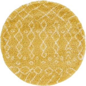 Link to 152cm x 152cm Marrakesh Shag Round Rug item page
