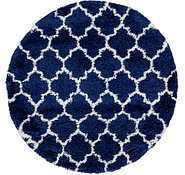 Link to 5' x 5' Marrakesh Shag Round Rug