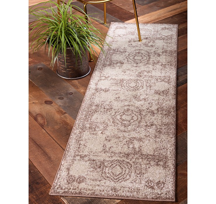 Light Brown Dover Runner Rug