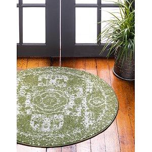 Unique Loom 3' x 3' Bromley Round Rug