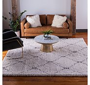 Link to 8' x 8' Marrakesh Shag Square Rug