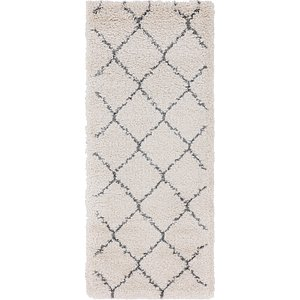 Link to 2' 7 x 6' Marrakesh Shag Runner Rug item page
