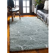 Link to 122cm x 183cm Marrakesh Shag Rug