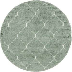 Link to 8' x 8' Marrakesh Shag Round Rug item page