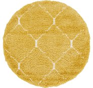 Link to 152cm x 152cm Marrakesh Shag Round Rug