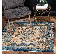 Link to 4' 5 x 4' 5 Graham Square Rug