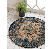 Link to 4' 5 x 4' 5 Graham Round Rug