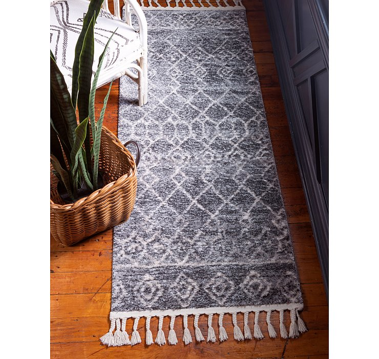 Dark Gray Artemis Runner Rug