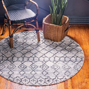 Unique Loom 8' 4 x 8' 4 Atlas Round Rug