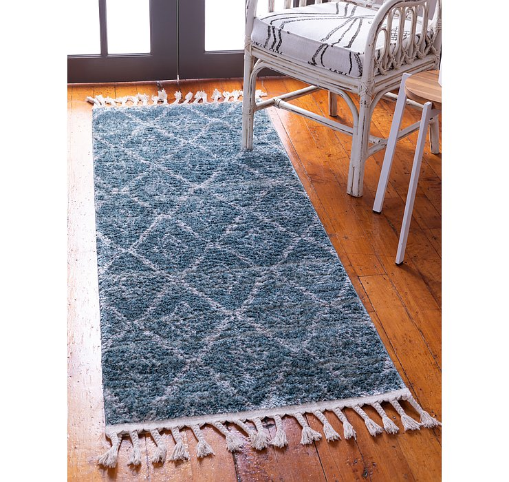 Dark Blue Artemis Runner Rug