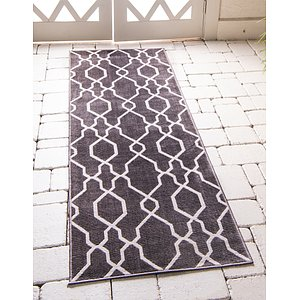 Link to 2' 2 x 8' Outdoor Oasis Runner Rug item page